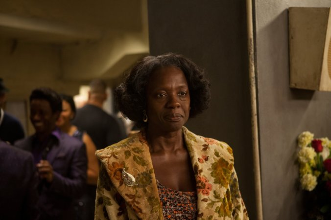 "You will see a whole new side of Viola Davis in ""Get On Up"" sadly you won't see her in the movie that much."